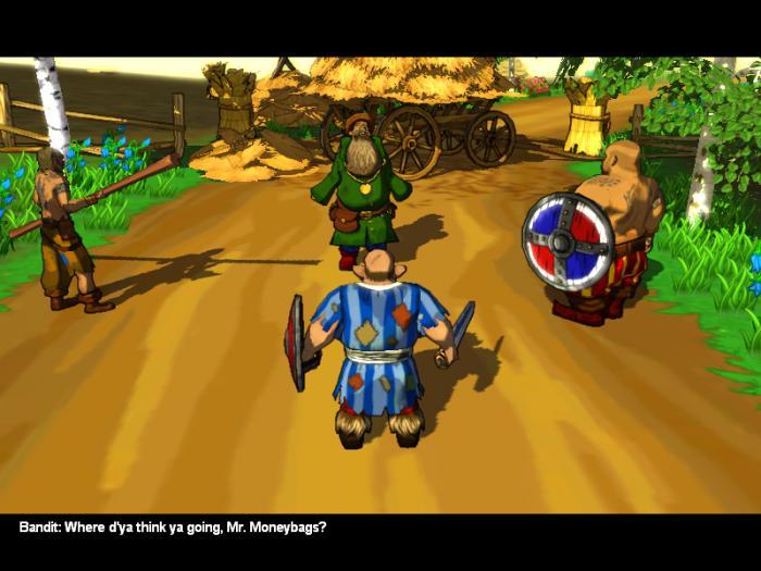 скачать игру Three Heroes - фото 4