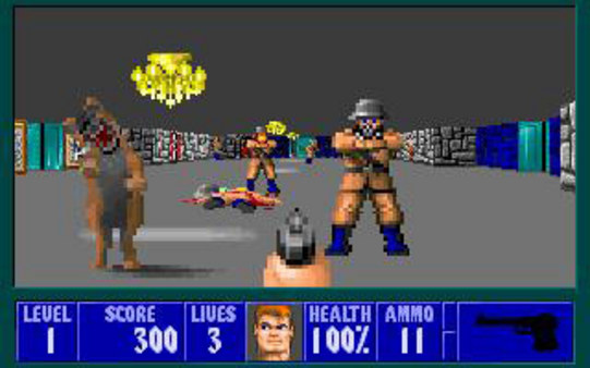 Screenshot 1 of Wolfenstein 3D
