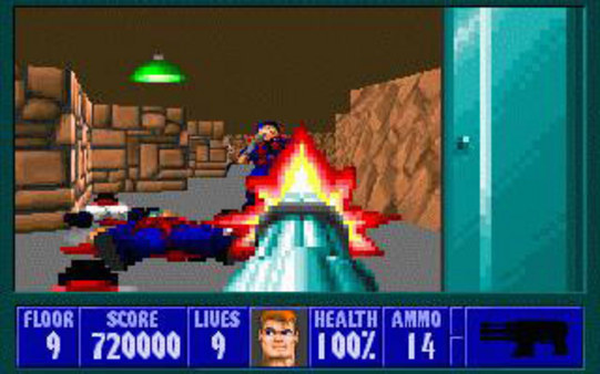 Screenshot 2 of Wolfenstein 3D