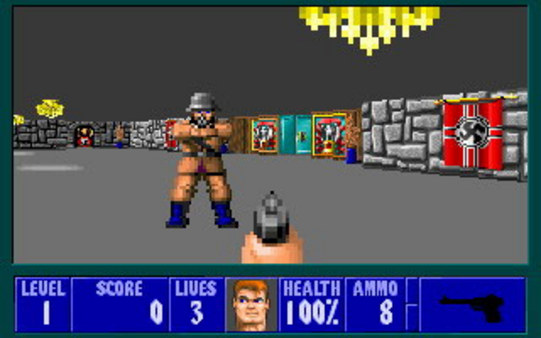 Screenshot 4 of Wolfenstein 3D