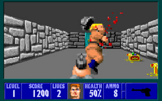 Screenshot 5 of Wolfenstein 3D