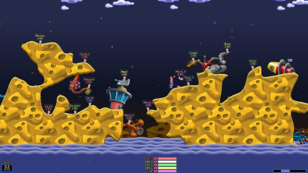 Screenshot 1 of Worms Armageddon