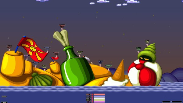 Screenshot 2 of Worms Armageddon