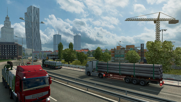 Screenshot 1 of Euro Truck Simulator 2 - Going East!