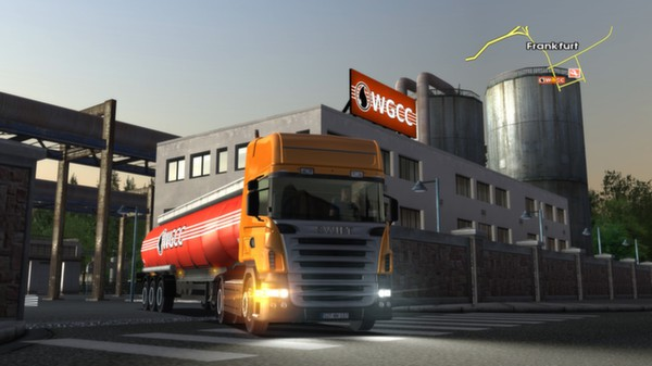 Screenshot 1 of Euro Truck Simulator
