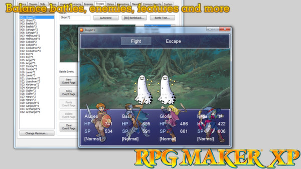 Screenshot 3 of RPG Maker XP