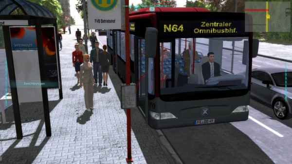Screenshot 1 of Bus-Simulator 2012