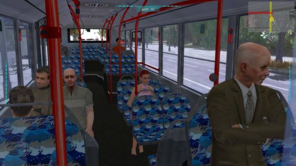 Screenshot 3 of Bus-Simulator 2012