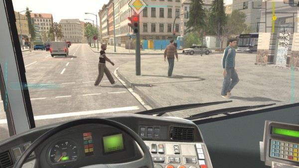 Screenshot 4 of Bus-Simulator 2012
