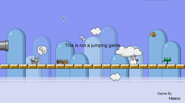 Screenshot 1 of This Is Not A Jumping Game