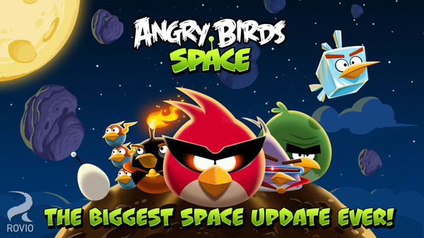 Screenshot 1 of Angry Birds Space