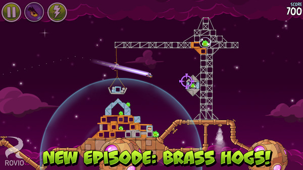 Screenshot 2 of Angry Birds Space