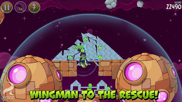 Screenshot 3 of Angry Birds Space