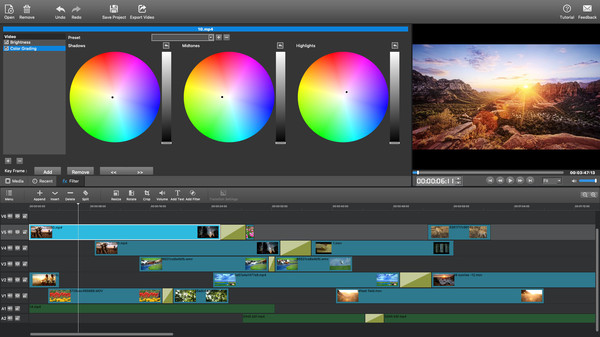 Screenshot 1 of MovieMator Video Editor Pro - Movie Maker, Video Editing Software