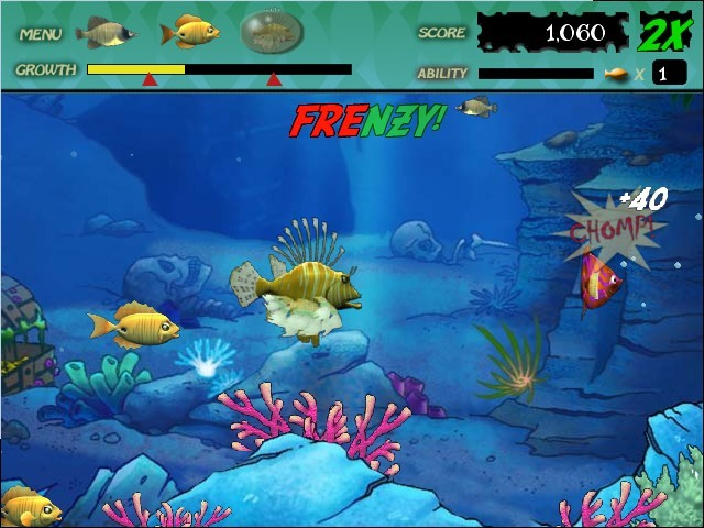 Feeding frenzy download for Fishing games free