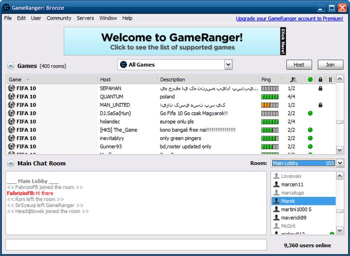 Gameranger for mac download.