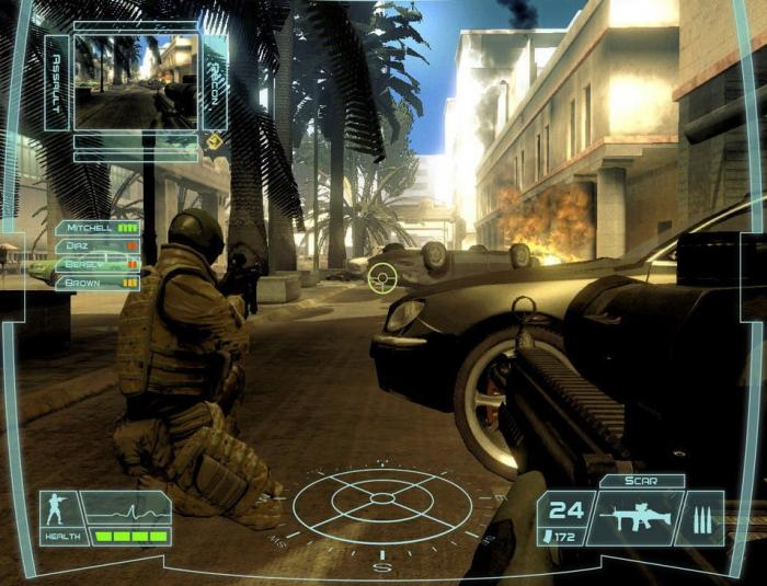 Скачать Игру Ghost Recon Advanced Warfighter Торрент - фото 2