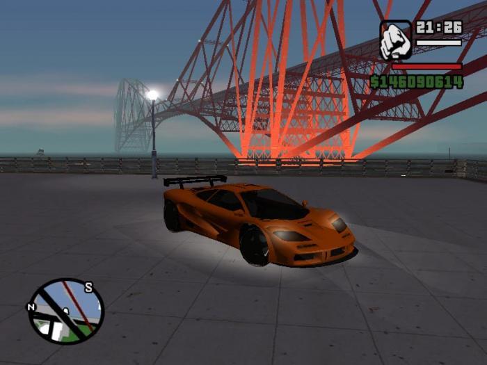 GTA San Andreas SUPER CARS  2011  RUSENG Уже