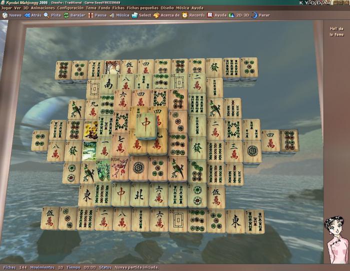 Kyodai mahjongg — download.