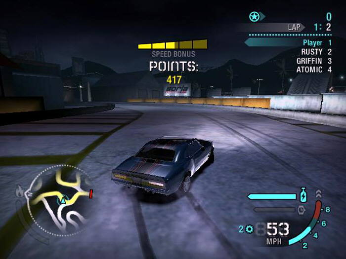 need for speed carbon gioco completo