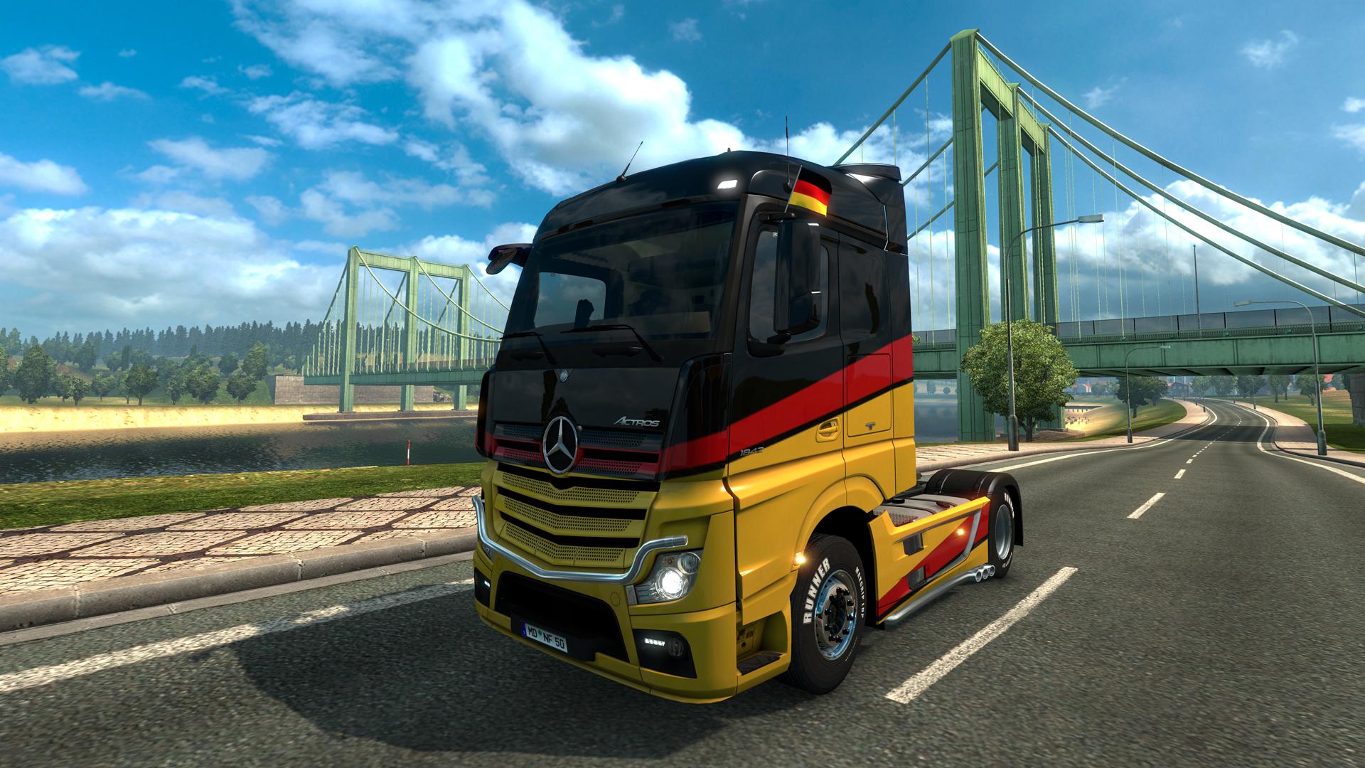 Euro Truck Simulator 2 - Window Flags Download Free