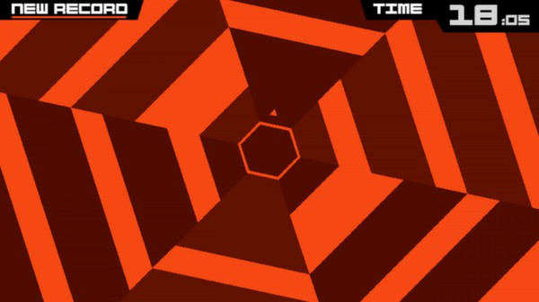 Screenshot 1 of Super Hexagon