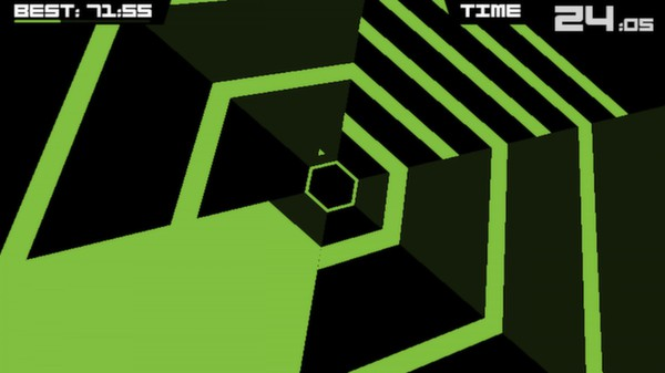 Screenshot 2 of Super Hexagon