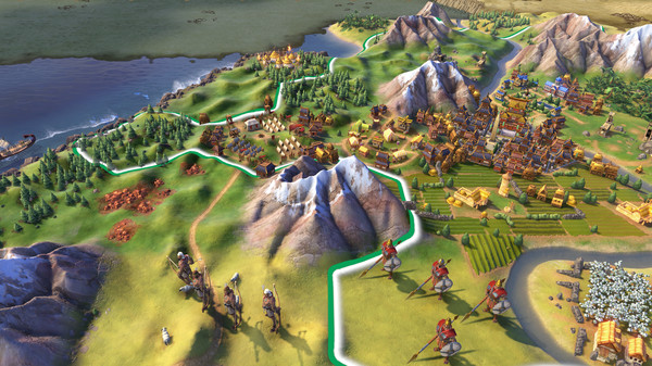 Screenshot 1 of Sid Meier's Civilization® VI