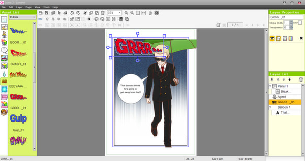 Screenshot 12 of Manga Maker Comipo