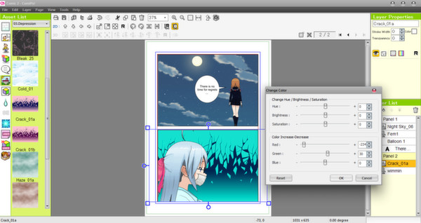 Screenshot 14 of Manga Maker Comipo