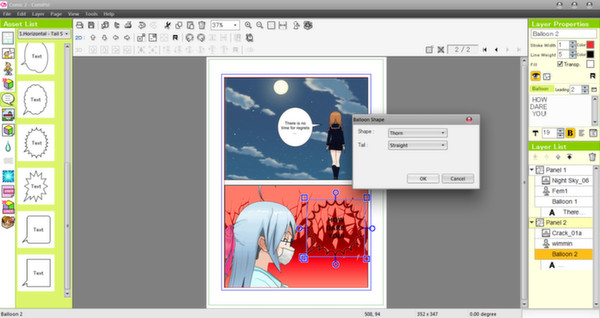 Screenshot 16 of Manga Maker Comipo