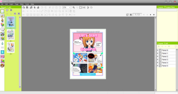 Screenshot 3 of Manga Maker Comipo