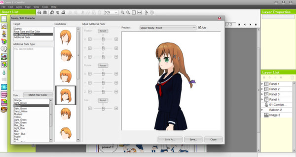 Screenshot 4 of Manga Maker Comipo