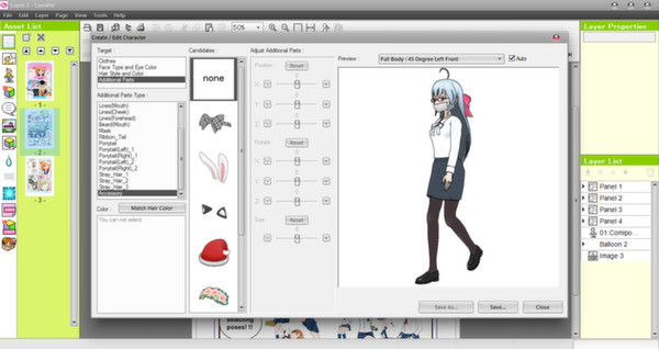 Screenshot 5 of Manga Maker Comipo