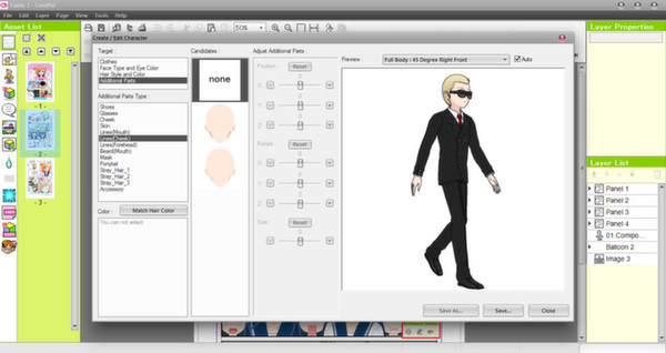 Screenshot 6 of Manga Maker Comipo