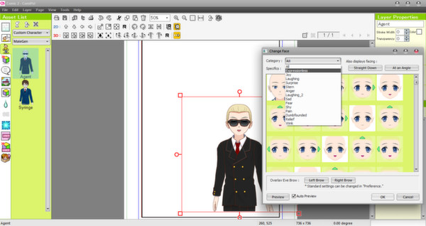 Screenshot 7 of Manga Maker Comipo