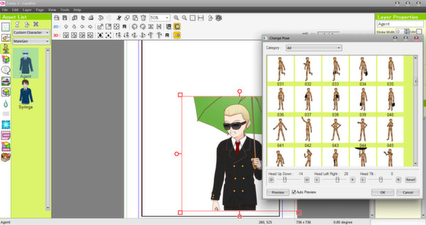 Screenshot 8 of Manga Maker Comipo