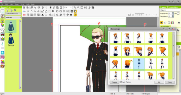 Screenshot 9 of Manga Maker Comipo