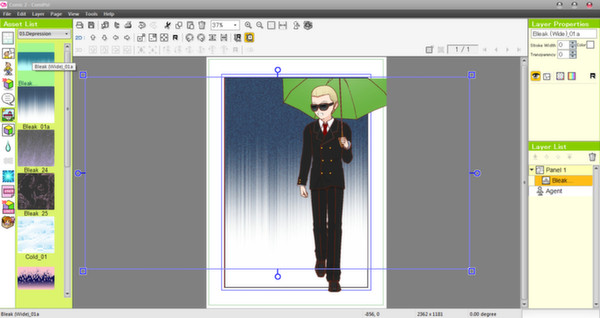 Screenshot 10 of Manga Maker Comipo