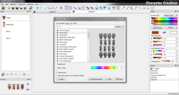 Screenshot 3 of Game Character Hub