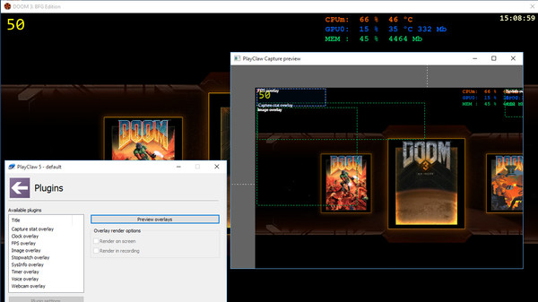 Screenshot 3 of PlayClaw 5 - Game Recording and Streaming