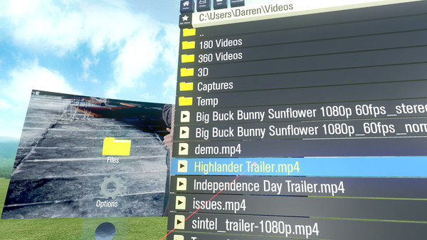 Screenshot 3 of Simple VR Video Player