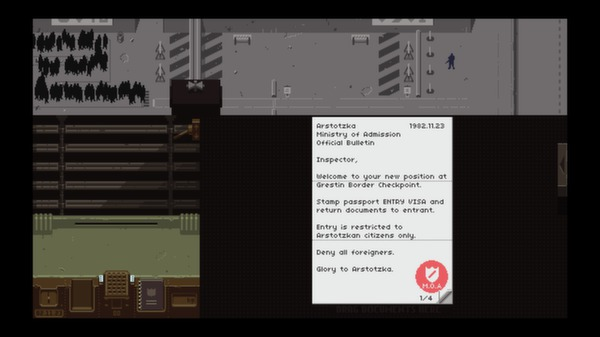 Screenshot 2 of Papers, Please