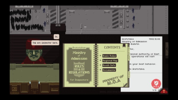 Screenshot 3 of Papers, Please