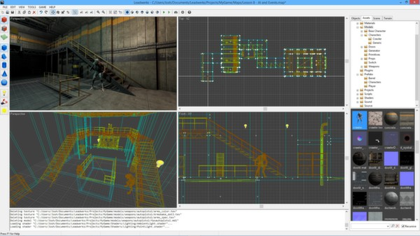 Screenshot 1 of Leadwerks Game Engine