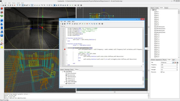 Screenshot 11 of Leadwerks Game Engine