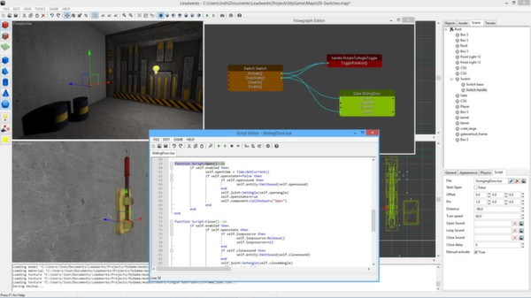 Screenshot 10 of Leadwerks Game Engine