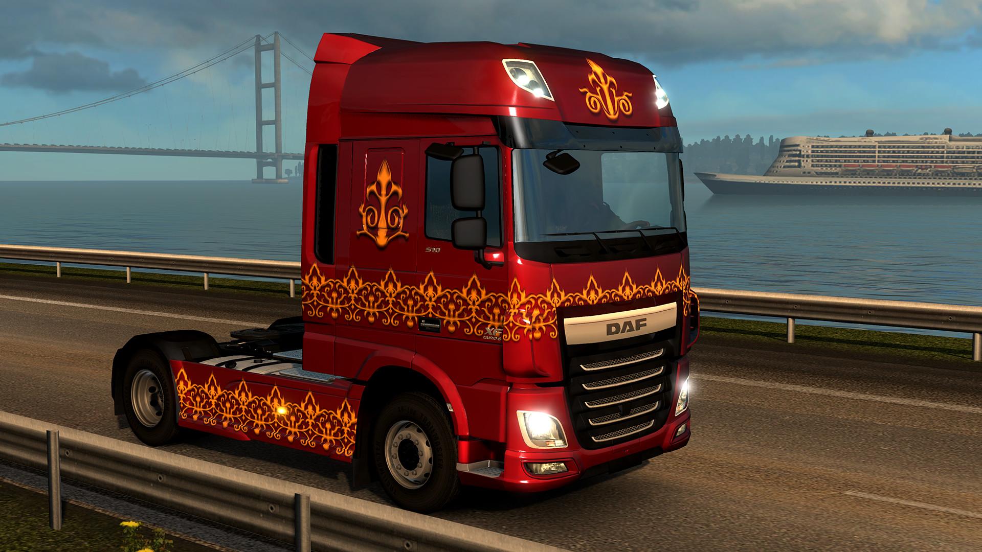 Euro truck simulator 2 - german paint jobs pack downloads
