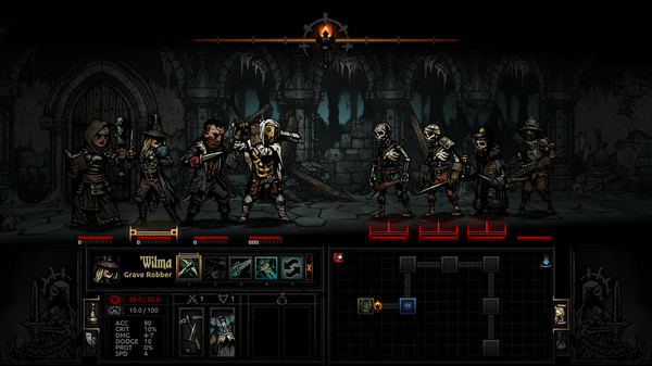 Screenshot 1 of Darkest Dungeon