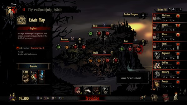 Screenshot 12 of Darkest Dungeon